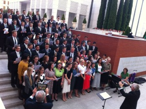 Hermana Durham in front in Lime green - 7/28