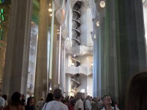 Inside the Sagrada Familia